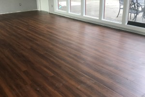 Harvey new floor